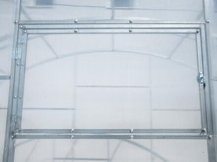 Теплица Агроном с прямыми стенками